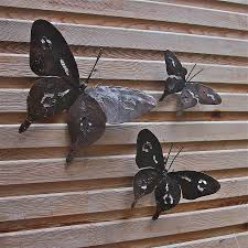 Garden Metal Art Displaying Photos Of Butterfly Garden Metal Wall Art View 3 Of 20