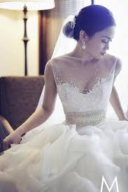 custom made wedding dress dress veluz reyes custom made wedding dresses 1911223 weddbook