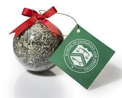 ornament shredded money celebrating america llc