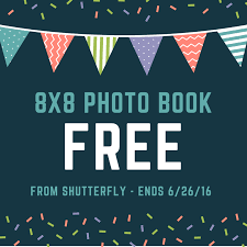 8x8 Photo Book Shutterfly Free 8x8 Photo Book Ends 6 26 Mom Saves Money