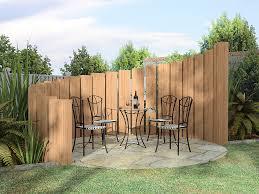 Backyard Privacy Ideas Cheap Backyard Privacy Fence Gardening Design