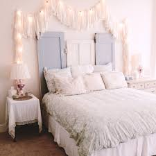 White Romantic Bedroom Ideas How You Can Use String Lights To Make Your Bedroom Look Dreamy