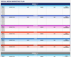 Excel Template Schedule Free Weekly Schedule Templates For Excel 18 Template B Ptasso