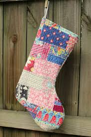 Homemade Christmas Stockings by Top 25 Best Quilted Christmas Stockings Ideas On Pinterest
