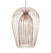 wire pendant light fixtures copper wire hanging ceiling light pendant amazon co uk lighting