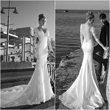 new arrival sweetheart fit flare mermaid wedding dress sheer long