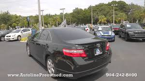 toyota se review autoline preowned 2009 toyota camry se for sale used walk around