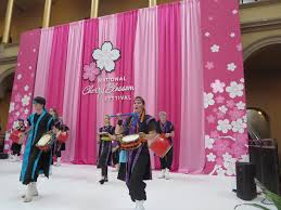 National Cherry Blossom Festival by Chin Hamaya Daiko Performing At The National Cherry Bloss U2026 Flickr