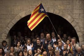 700 000 protest in barcelona against police violence city police