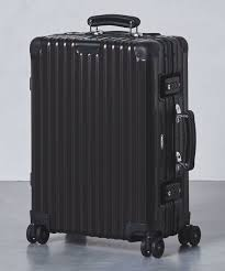 suitcases united arrows is releasing rimowa u0027s classic flight suitcases in