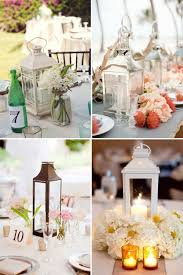 Tall Wedding Reception Centerpieces by Tall Centerpieces On A Budget Lantern Wedding Inspiration