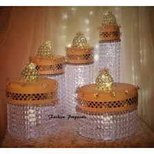 cake stand wedding cake stand cascade waterfall set of 5 asianwedding