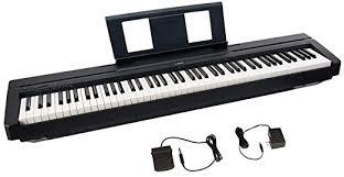 black friday 2016 keyboard amazon amazon com yamaha p45 88 key weighted action digital piano with