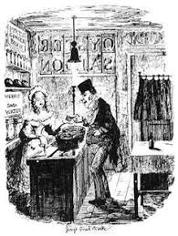 our next door neighbour by boz illustrator george cruikshank