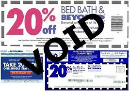 Bed Bath And Beyond Coupon Code Online 20 Off Bed Bath And Beyond Coupon Coupons 2017