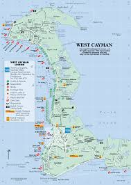 Caribbean Islands Map by Caribbean On Line The Cayman Islands Maps West Grand Cayman