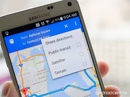Map My Driving Route by How To Share Directions In Google Maps For Android Android Central
