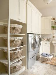 Laundry Room Basket Storage Shelving For Laundry Room Ideas Homesfeed