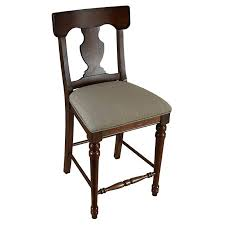 Barstool Chair Hillsdale Norwood 26 5 In Hammered Copper Back Swivel Counter
