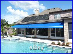 20 Ft Retractable Awning Patio Awnings Canopies And Tents Sequoia