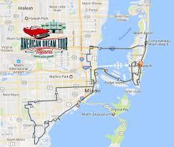 Hialeah Florida Map by 3 5 Hr Classic Car Tour Miami Miami Beach Gables