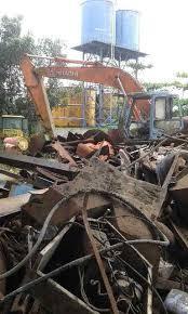Besi Scrap menerima besi tua bekas dalam jumlah besar