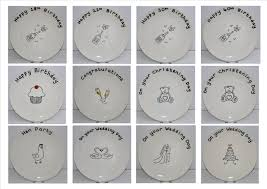 signing plate live and create ceramics and crafts signature plates and