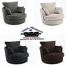 Swivel Cuddle Chair New Dylan Chicago Jumbo Cord Right Hand Corner Sofa Ferguson Tub