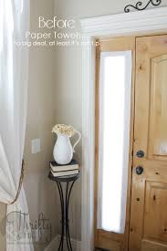 Sidelight Windows Photos Thrifty And Chic Diy Projects And Home Decor