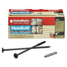 Kitchen Cabinet Fasteners Amazon Com Fastenmaster Fmhlgm006 50 Headlok Heavy Duty Flathead