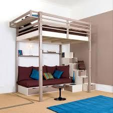 bureau superposé lit superpose avec rangement mezzanine fauteuil et bureau aubin en