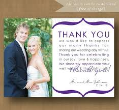 wedding thank you cards thank you notes for wedding married wedding thank you card