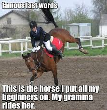 Horse Riding Meme - last words meme slapcaption com on we heart it