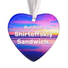 sandwich ornaments keepsake ornaments zazzle