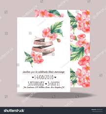 Wedding Invitation Card Samples Wedding Invitation Card Template Hand Drawn Stock Vector 245443339