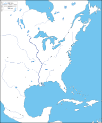 North America Maps by East Coast Of North America Free Maps Free Blank Maps Free