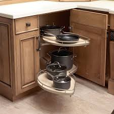 Blind Corner Storage Systems Double Pullout Lower Cabinets Kitchen Cabinets Reno