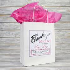 personalized wedding gift bags personalised wedding favour gift bags bridesmaid page boy flower girl