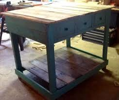 Pallet Kitchen Island Diy Pallet Kitchen Island With Drawers Pallet Furniture Plans