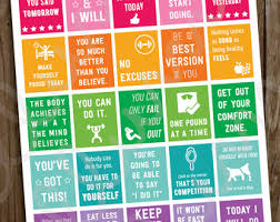 printable weight loss quotes fitness planner stickers workout motivational quotes stickers