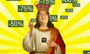Gabe Newell Memes - gabe newell vs chuck norris battles comic vine