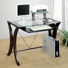 Glass Office Desks Shop Modern Glass Desk And Glass Office Desk