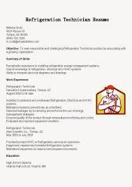 hvac technician resume examples job descri peppapp