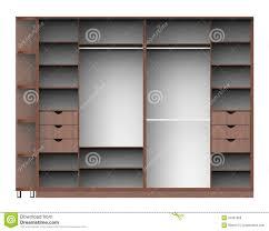 Wardrobe With Shelves by Wardrobe With Shelves Royalty Free Stock Photos Image 34361868