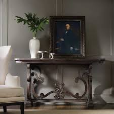 hooker sofa tables hooker furniture davalle scroll console table 5165 85001