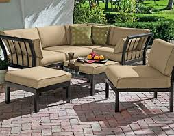 Small Sectional Patio Furniture - furniture attractive outdoor sectional sofa for modern outdoor