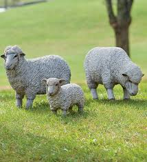 outdoor resin sheep and lawn statues why must they be so