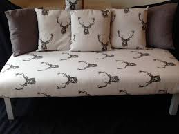 Stag Cushions 5 Foot Stag Sofa Stool Footstool Bench Coffee Table