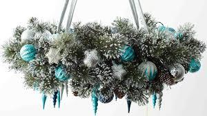 Midwest Chandelier Company Video Learn U0026 Do Holiday Wreath Chandelier Martha Stewart