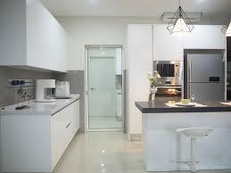 modern wet kitchen design meridian interior design and kitchen design in kuala lumpur